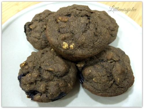 Littlemissjolee - Garden lites blueberry oat muffins ...